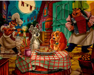 Puzzle mania Lady and the Tramp kuty�s j�t�kok